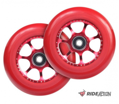 КОЛЕСА TILT STAGE 2 SPOOKED CORE RED